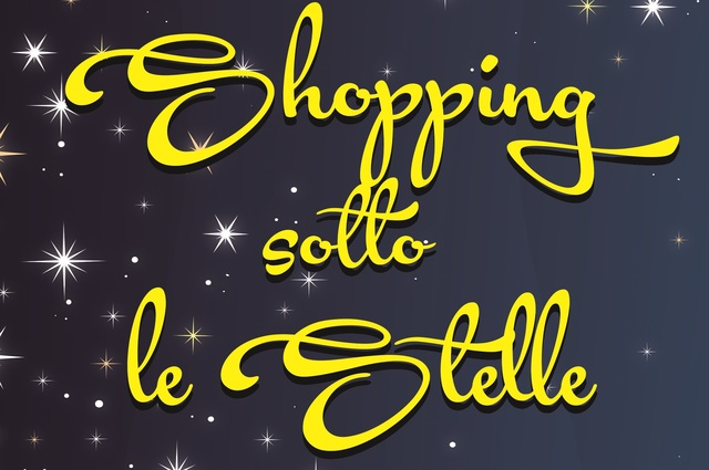 Shopping sotto le stelle!